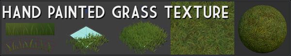 hand painted grass tutorial link